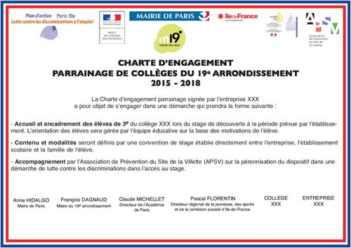 LCDE charte engagement 2015